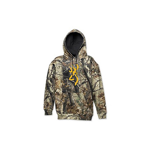 Wasatch Buckmark Hoodie, Realtree Xtra
