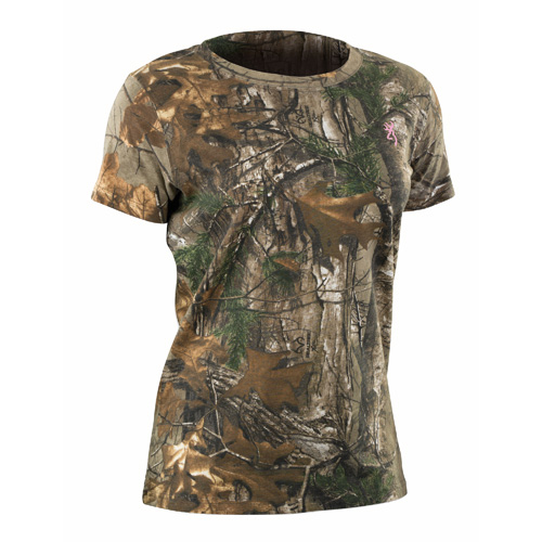 Wasatch Short Sleeve Shirt for Her, Realtree Xtra Camo