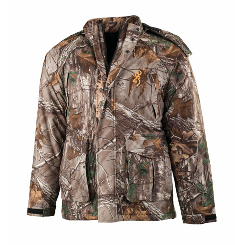 Wasatch Jr Insulated Rain Parka, Realtree Xtra